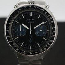 Seiko Bullhead Chronograph Anno 1977 Black dial