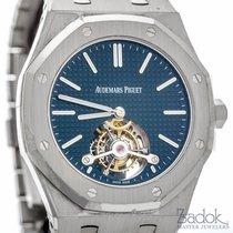 Audemars Piguet Royal Oak Tourbillion Extra-Thin Watch Steel...