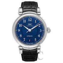 IWC Portofino Automatic 36 Blue Steel/Leather 37mm - IW458312
