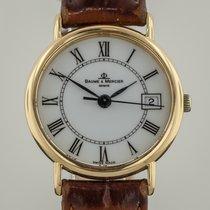 Baume & Mercier , Ladies, 18K Yellow Gold, 16773, Leather...