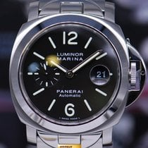 Panerai Luminor Marina 44mm Ss With Bracelet Automatic Pam 220...