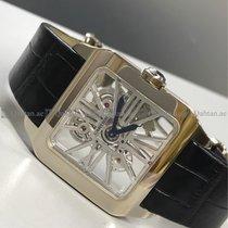 Cartier - Santos W2020033 Skeleton Dial WG