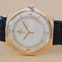 """Omega """"Ambassador"""" Pink Gold Automatic with Bumper"""