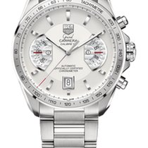 TAG Heuer Grand Carrera Calibre 17RS 43mm Silver Dial