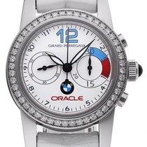 Girard Perregaux Lady Chronograph Steel BMW Diamonds