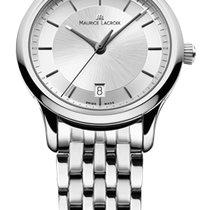 Maurice Lacroix Les Classique Date Quartz Silver Dial, Steel...