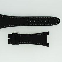 IWC Lederband / Textil / Schwarz 28/18mm 115/75mm