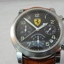 Girard Perregaux Ferrari Chronograph Carbon Dial Yellow Logo