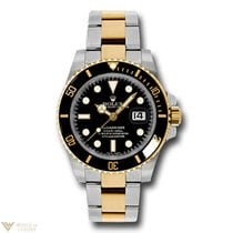 Rolex Oyster Perpetual Submariner 18K Yellow Gold &...