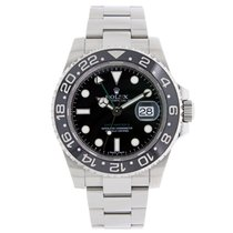 Rolex GMT MASTER II  Black Ceramic Stainless Steel Watch 2009