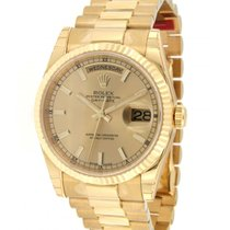 Rolex Day Date 118238 In Yellow Gold, 36mm
