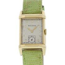 Bulova Vintage Bulova 14k Yellow Gold Watch