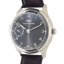 IWC Portoghese Minute Repeater Iw524205 White Gold, Leather, 43mm