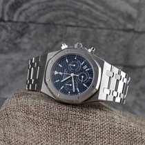 Audemars Piguet Royal Oak 25860ST Blue Dial Chrono-Full Set