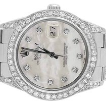 Rolex Mens or Ladies Rolex Date Quick Set 15010 Oyster 34 MM...