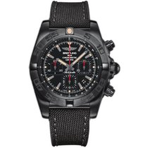Breitling Men's MB0111C3/BE35/253S Chronomat 44 Blacksteel...