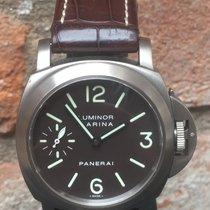 Panerai Luminor Marina Titanium tobacco dial