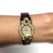 Σοπάρ (Chopard) 18k Yellow Gold Ladies Watch W/ Mother Of...