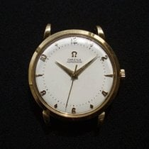 Omega Automatic (Year: 1950) Rare Solid 18ct gold MINT