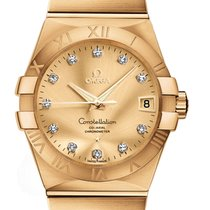 Omega Constellation Co-Axial Automatic 38mm 123.50.38.21.58.001