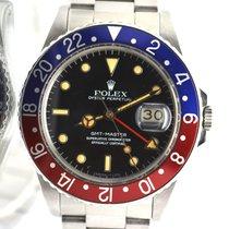 Rolex 16750 GMT Master Pepsi untouched Original 1985's...