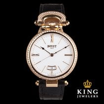 Bovet Chateau de Motiers Diamond Bezel 18k Rose Gold