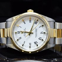 Rolex 2002 34mm Oyster Perpetual, Steel & Gold, 14203m, Boxed