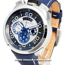 Bomberg Bolt 68 Chronorgaph Blue