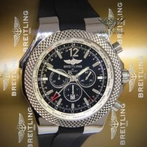Breitling Bentley GMT Chronograph Steel Black Dial Automatic...