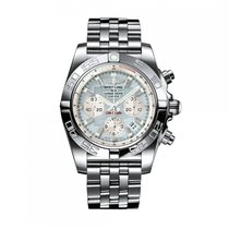 Breitling Chronomat Automatic Stainless Steel Mother-Of-Pearl...