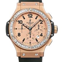 Hublot Big Bang Gold Mat 18K Rose Gold & Diamonds Unisex...