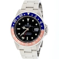 Rolex GMT-Master II Original Pepsi Dial Steel Oyster Mens...