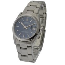 Rolex Used 78240_used_blue_stick Steel Mid Size Datejust with...