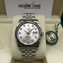 勞力士 (Rolex) 116234 Datejust Silver Diamond Dial 36mm [NEW]