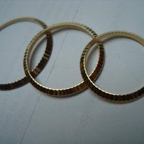 Rolex Lünetten original in 750/000 Gold gebraucht