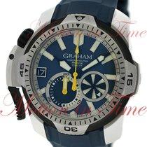 Graham Prodive Chronograph Oversize Diver, Blue Dial -...