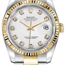 롤렉스 (Rolex) Datejust 36mm Stainless Steel and Yellow Gold...