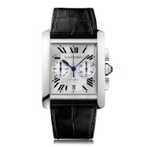 Cartier Men's Tank MC Chronograph Stainless Steel Watch