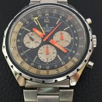 Breitling Rare Chronograph GMT  ref.812 stainless steel