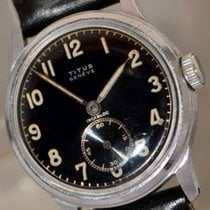 Titus vintage Military wristwatch with screwback