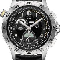 Hamilton Khaki Worldtimer chrono quartz H76714735 Sportliche...