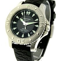 Chopard 16/8912_blk L.U.C. Pro One in Steel - on Rubber Strap...