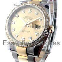 Rolex Unworn 116243chdo Datejust 36 mm 2 Tone with Diamond...