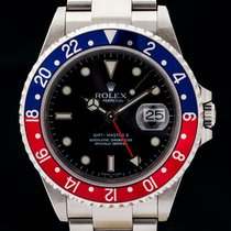 Rolex GMT Master II, Z-Serie, 16710 BLRO , Rectangular, 3186