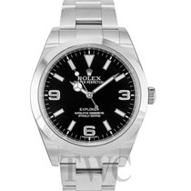 Rolex Explorer Black/Steel Ø39 mm - 214270