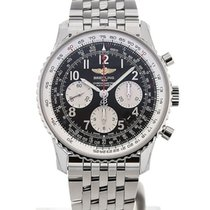 Breitling Navitimer 01 43 Arabic Numeral Steel Strap