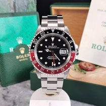 Rolex GMT-Master II 16710 / 1990 / UNPOLISHED / Box and Papers