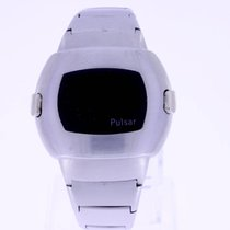 Pulsar Time Computer Vintage LED Watch