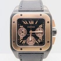 Cartier Santos 100 XL Chronograph Rose Titanium