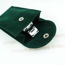Rolex Service Travel Pouch green Transporttasche grün NEU
